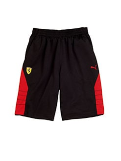 PUMA Ferrari - Boy's Logo Shorts