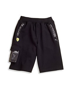 PUMA Ferrari - Boy's Ferrari Bermuda Shorts