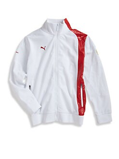 PUMA Ferrari - Boy's Ferrari Tricolt Track Jacket