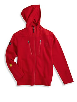 PUMA Ferrari - Boy's French Terry Ferrari Jacket