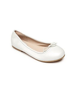 Bloch - Toddler's & Girl's Pearlized Leather Ballet Flats