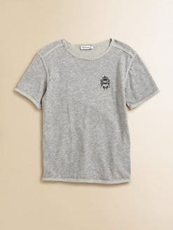 Dolce & Gabbana - Boy's Raw Edge Cotton Tee