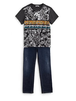 Dolce & Gabbana - Boy's Graphic Cotton Tee