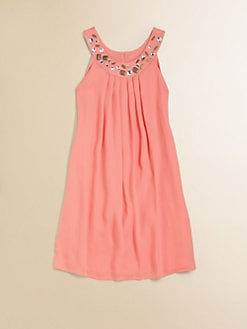 Blush by Us Angels - Girl's Ringer Trapeze Dress