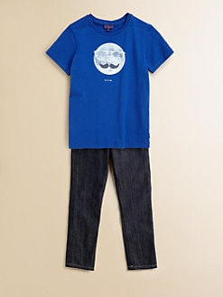 Paul Smith - Boy's Glow-in-the-Dark Moon T-Shirt