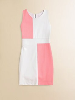 Zoe - Girl's Colorblocked Dress