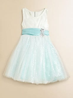 Zoe - Girl's Sequin Sparkle Dress