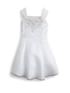 Us Angels - Girl's Embellished Organza Dress