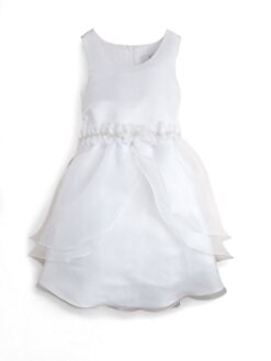 Us Angels - Girl's Layered Organza Dress