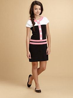 KC Parker - Girl's Colorblock Knit Dress