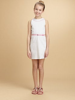 KC Parker - Girl's Woven Dot Dress