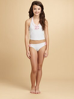 KC Parker - Girl's Dotted Tankini