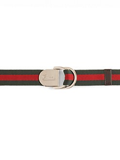 Gucci - Kid's D-Ring Buckle Belt