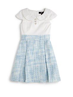 ABS - Girl's Chloe Tweed Dress