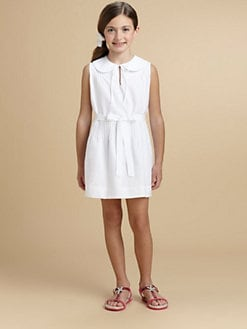 Oscar de la Renta - Girl's Pintucked Dress