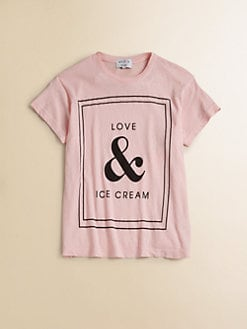 Wildfox Kids - Girl's Love & Ice Cream Tee