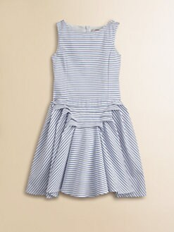 Junior Gaultier - Girl's Popeline Cotton Dress