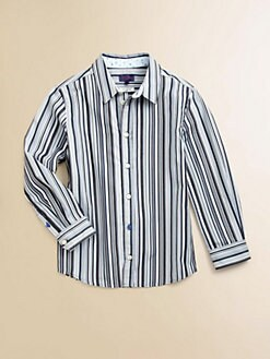 Paul Smith - Boy's Woven Striped Shirt