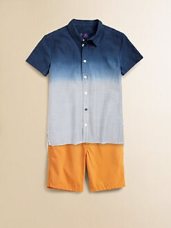 Paul Smith - Boy's Ombre Striped Shirt