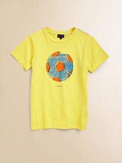 Paul Smith - Boy's Soccer Ball T-Shirt