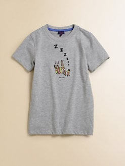 Paul Smith - Boy's Sleeping Zebra T-Shirt