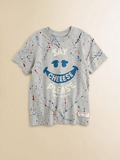 True Religion - Girl's Paint Splatter Tee