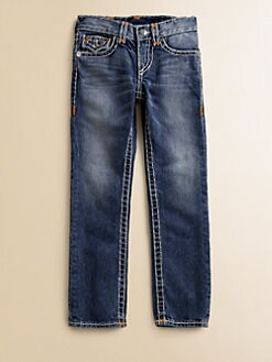 True Religion - Boy's Jack Super T Slim Jeans