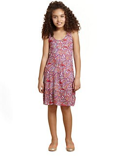 Ella Girl - Girl's Racerback Print Dress