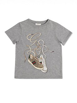 Gucci - Boy's Gucci Sneakers Tee