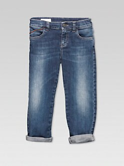 Gucci - Boy's Stretch Jeans