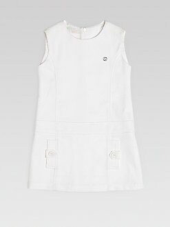 Gucci - Girl's Cotton Piqué Dress