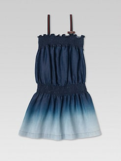 Gucci - Girl's Smocked Degradé Dress