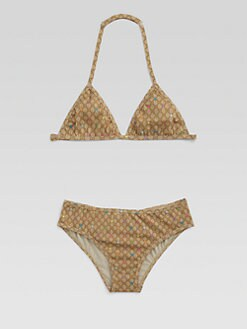 Gucci - Girl's Two-Piece GG Stars Bikini Set