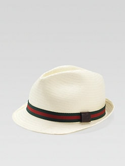 Gucci - Kid's Signature Web Fedora