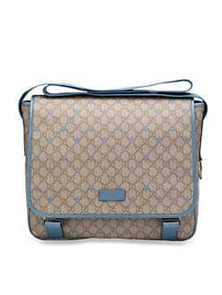 Gucci - Kid's Micro GG Supreme Canvas Stars Diaper Bag