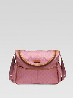 Gucci - GG Nylon Messenger Diaper Bag