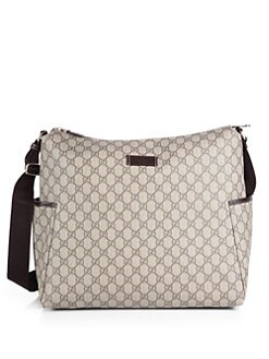 Gucci - GG Interlocking Diaper Bag