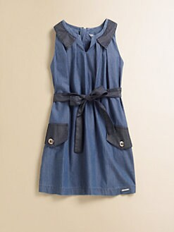 Little Marc Jacobs - Girl's Chambray Dress