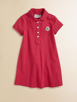 Moncler - Girl's Polo Dress