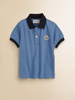 Moncler - Boy's Knit Polo Shirt