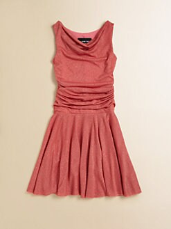 Un Deux Trois - Girl's Sparkle Knit Dress