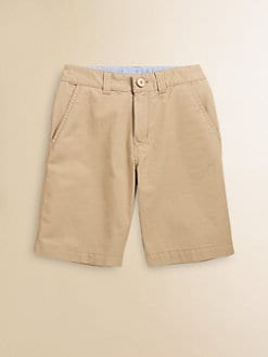 Lacoste - Boy's Gabardine Bermuda Shorts