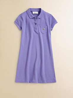 Lacoste - Girl's Pique Polo Dress