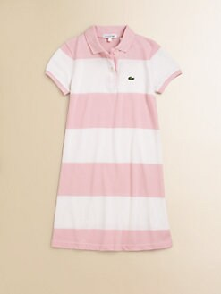 Lacoste - Girl's Striped Polo Dress