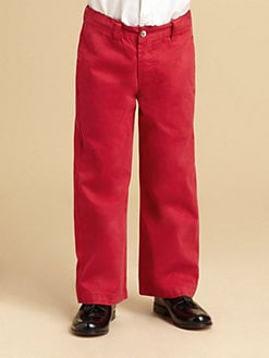 Oscar de la Renta - Boy's Twill Trousers