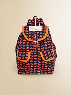 Little Marc Jacobs - Girl's Printed Backpack