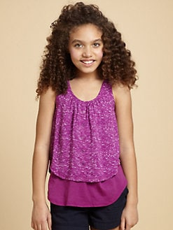 Splendid - Girl's Layered Tank