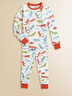 Hatley - Boy's Crazy Lizard Pajama Set