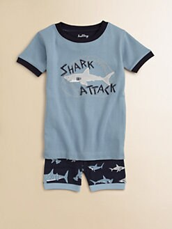 Hatley - Boy's Shark Attack Pajama Set