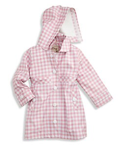 Hatley - Girl's Gingham Raincoat